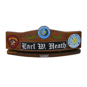 State of Texas Desk Name Plate