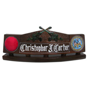 Army Artillery Guns Desk Name Plate