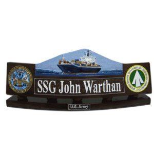 Army SDDC Desk Name Plate