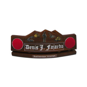 U.S. Army Soldier and Trucks Desk Name Plate