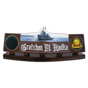 U.S. Army Tug Boat Desk Name Plate