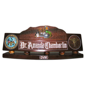 Army Veterinary Corps Desk Name Plate