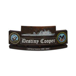Harpers Ferry Class LSD 49 Desk Name Plate