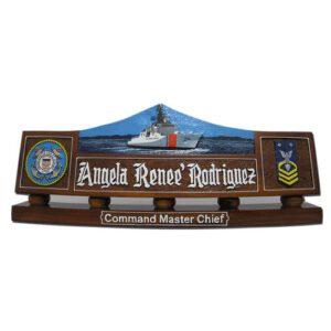 USCG Dallas (WHEC-750) Desk Name Plate