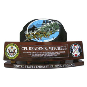 USMC ESG Desk Name Plate