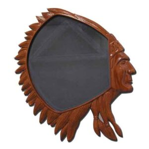 USN CPO Indian Head Shadow Box