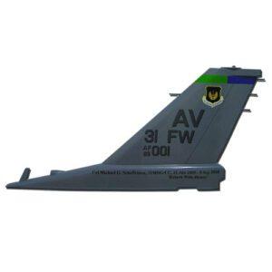 F16 AV 31FW Tail Flash