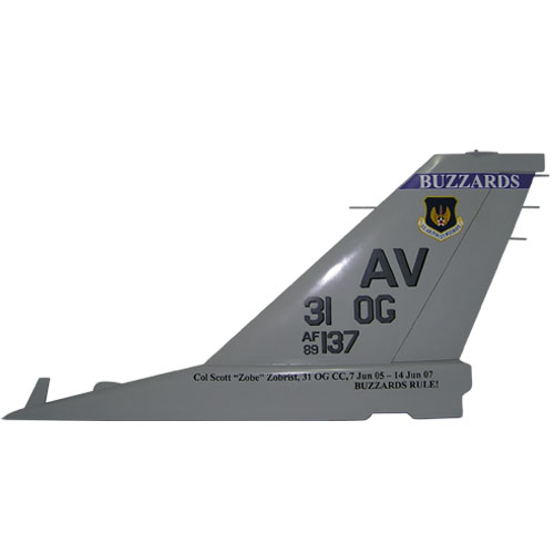 F16 AV 31OG Tail Flash