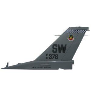 F16-SW 378 Tail Flash