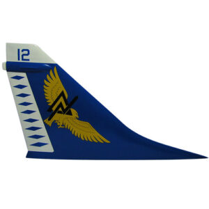 Navy A-7 Tail Flash