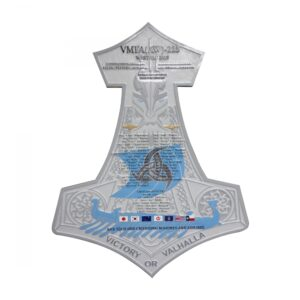 VMFA (AW)-225 Military Deployment Plaque WESTPAC 2015
