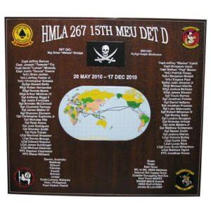 HMLA 267 Deployment Plaque 2010