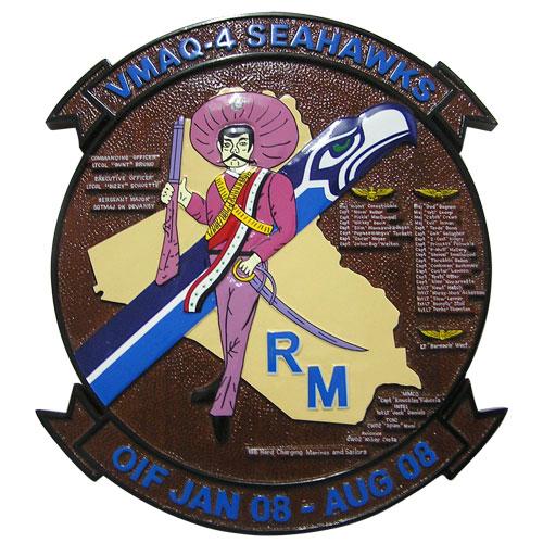 VMAQ-4 Deployment Plaque
