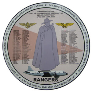 Fleet Recon Rangers Deployment Plaque 2007