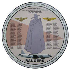 Fleet Recon Rangers Deployment Plaque 2007