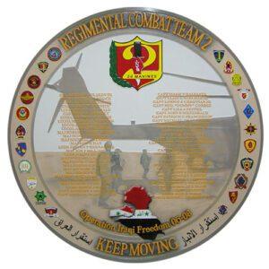 24th Marines Regimental Combat Team Deployment Plaque