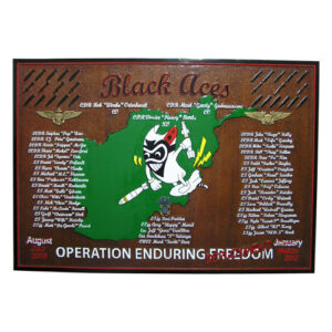 Dark Side 4th Marines 2011 Deployment Plaque
