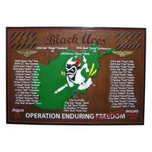 Dark Side 4th Marines 2011 Deployment Plaque