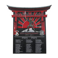 HSL-51 Warlords Deployment Plaque