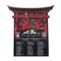 HSL-51 Warlords Deployment Plaque