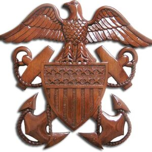 Navy Officer's Crest Insignia Plaque