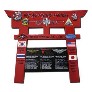 Custom Military Deployment Plaque