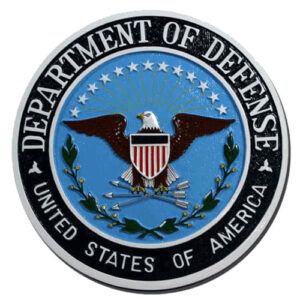 DOD Seal Plaque