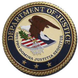 DOJ Seal Plaque