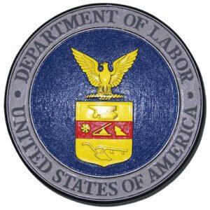 DOL Seal Plaque