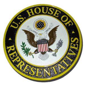 House of Representatives Seal Plaque