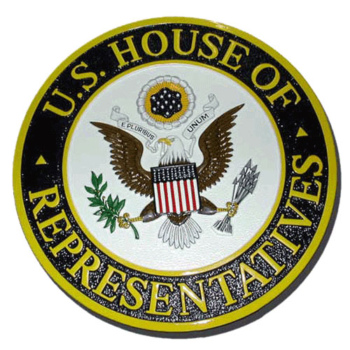 House of Representatives Seal Plaque