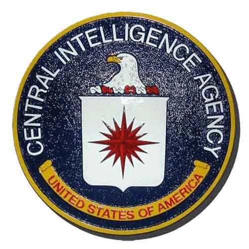 CIA Seal Plaque