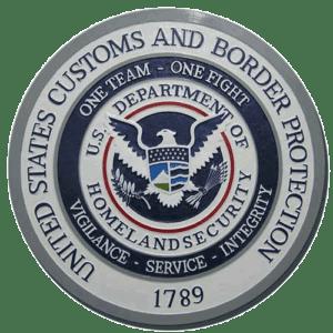 CBP Seal Plaque