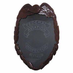 FAA Inspector Badge shadow box