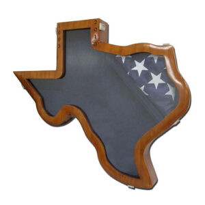 State of Texas Shaped Shadow Box