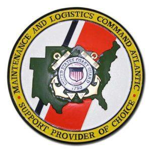 USCG Maintenance & Logistics Command Atlantic Emblem
