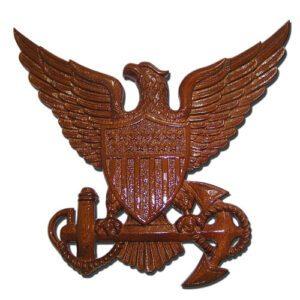 USCG Officer Insignia Plaque
