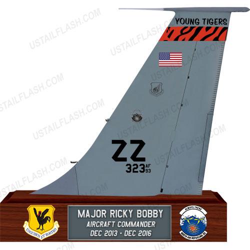 KC135 Tail Flash