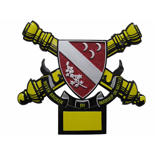 U.S. Army 1st Battalion 7th-Field Artillery Emblem