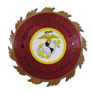 USMC University SAW Emblem
