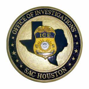 SAC-Houston Office of Investigations Emblem