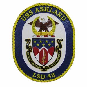 USN USS LSD 48 Ashland Emblem