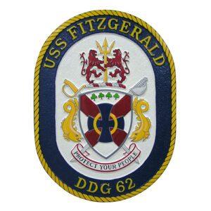 USN USS Fitzgerald DDG-62 Emblem