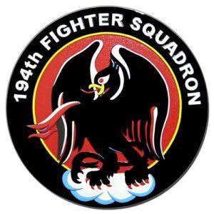194th Fighter Squadron Seal Plaque