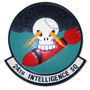 USAF 24th Intelligence Squadron Emblem