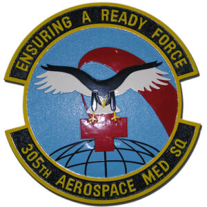 USAF 305th Aerospace Medical Squadron Emblem