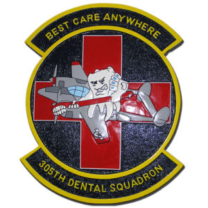 USAF 305th Dental Squadron Emblem