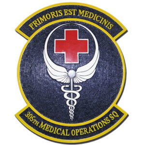 USAF 305th Medical Operations Squadron Emblem