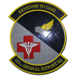 USAF 305th Medical Support Squadron Emblem