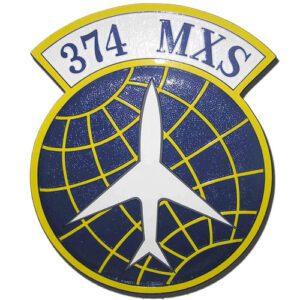 USAF 374th MXS Emblem